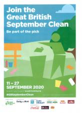 Join the Great British September Clean-up